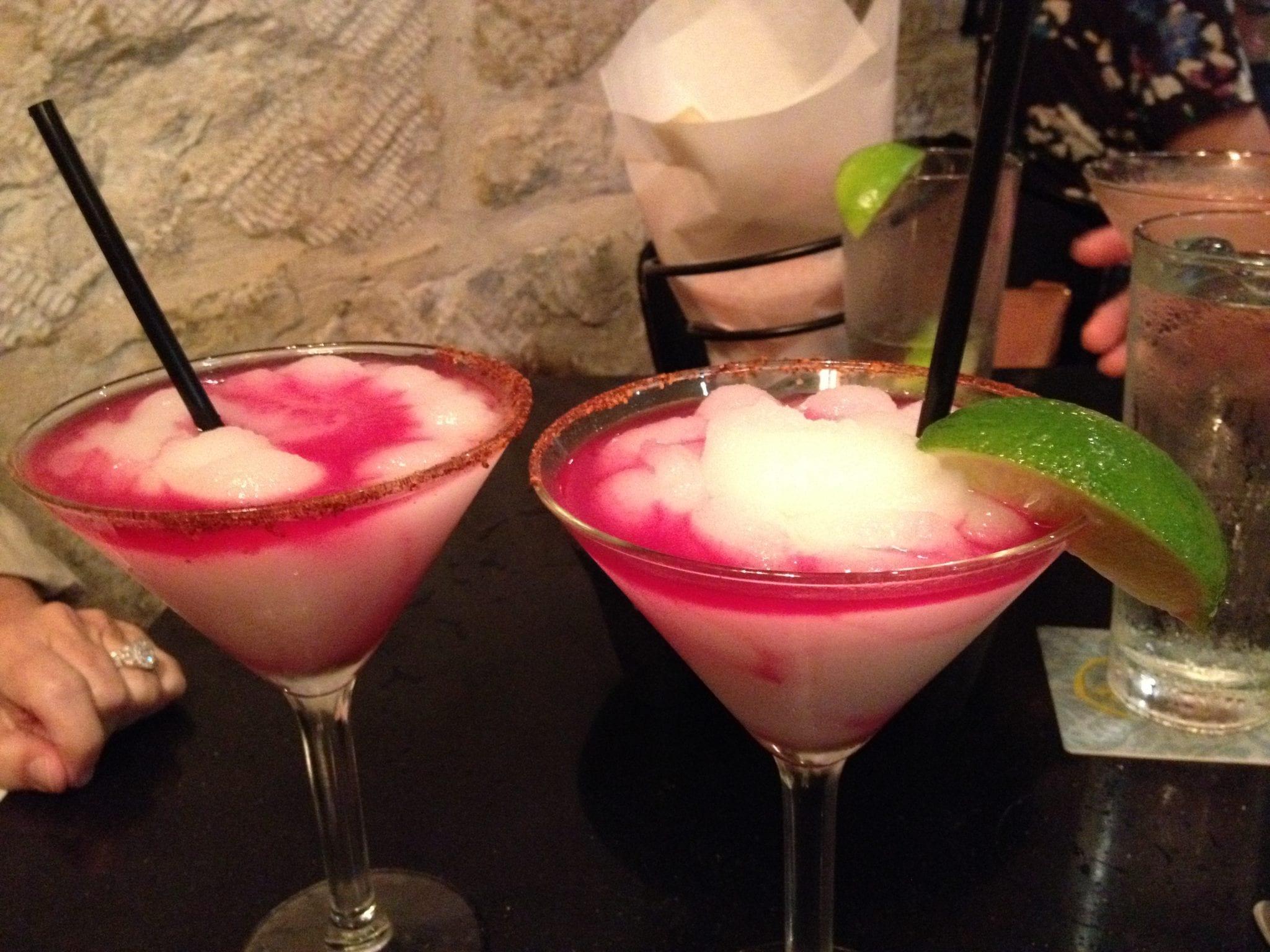 San Antonio, Graveyard Queen and Prickly Pear Margaritas